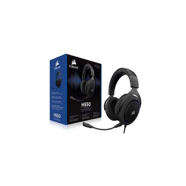 Corsair Gaming Headset – HS50 Stereo – Blue