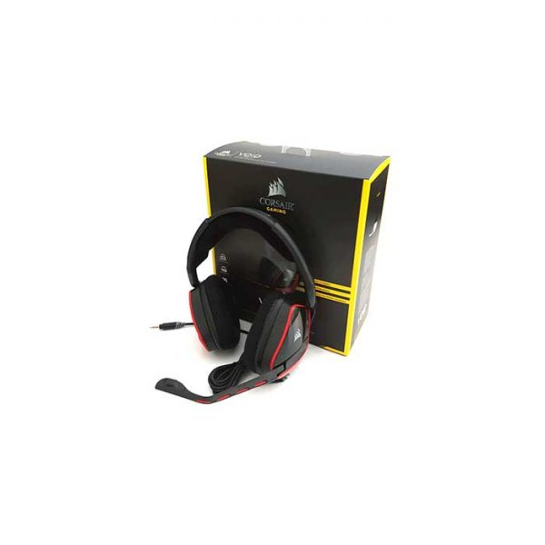 2cc00cc7a96 Corsair Gaming Headset – VOID Pro Surround Dolby 7.1 – Red ...